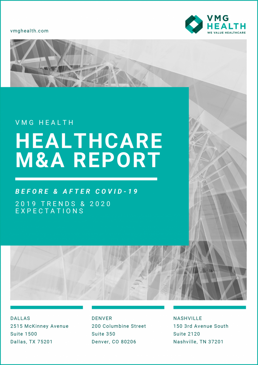 Healthcare M&A Report: 2019 Trends & 2020 Expectations Before & After COVID-19